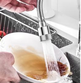 厨房水龙头防溅头嘴花洒卫生间通用万能增压节水加长延伸过滤神器