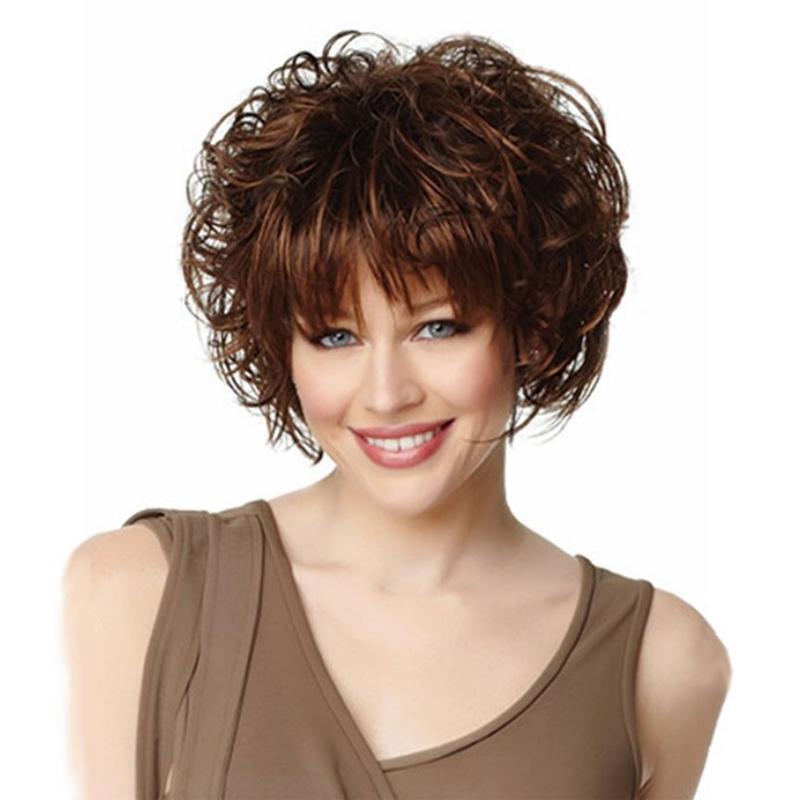Стрижки на средние вьющиеся волосы для женщин