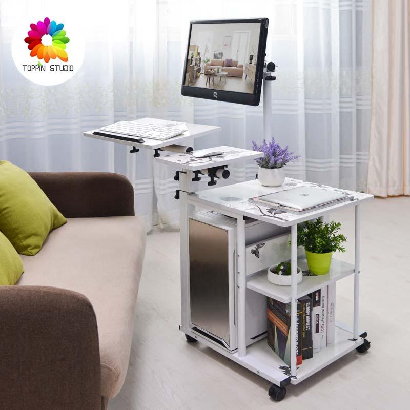 office desk bed. simple suspension bed with lazy little computer desk desktop table md0138 office