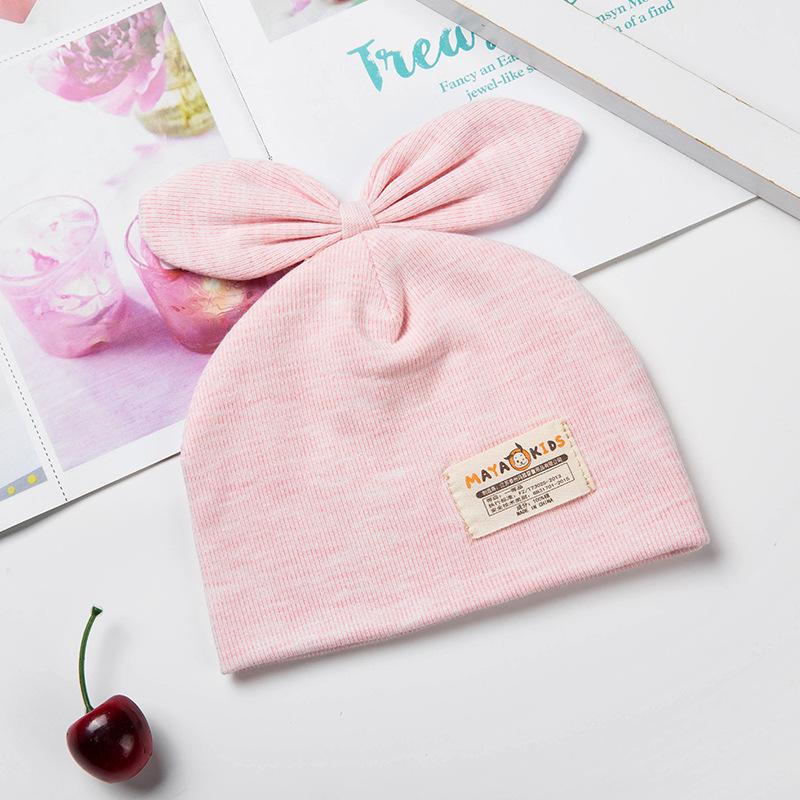YANN Newborn Baby Cotton Cloth Turban Toddler Hospital Hat Kids Set Head Cap