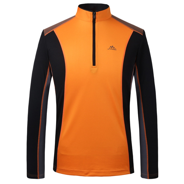 Outdoor quick-drying clothes men's T-shirt long-sleeved spring, autumn and summer running fitness fast-drying clothes mountaineering Jersey