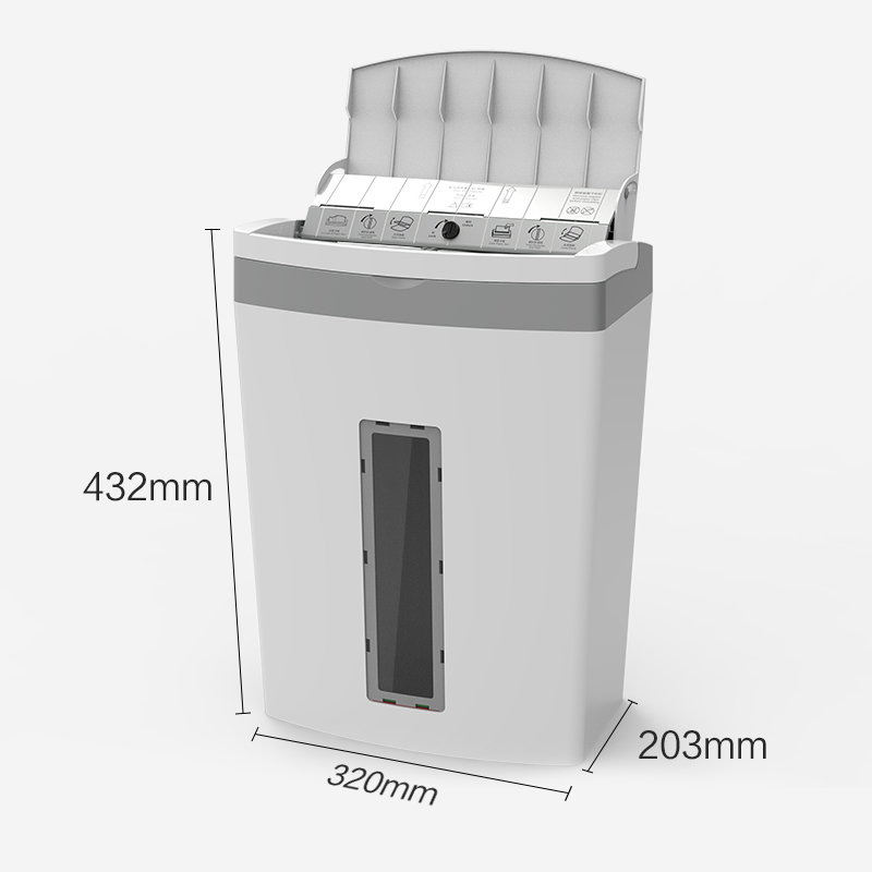 Astronomical 80 Automatic Grinder Mute Safe Office household high-Power 5-Level confidential file Shredder