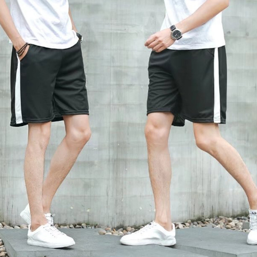 Summer 5 minutes casual pants youth fashion pants men's sports five-cent pants