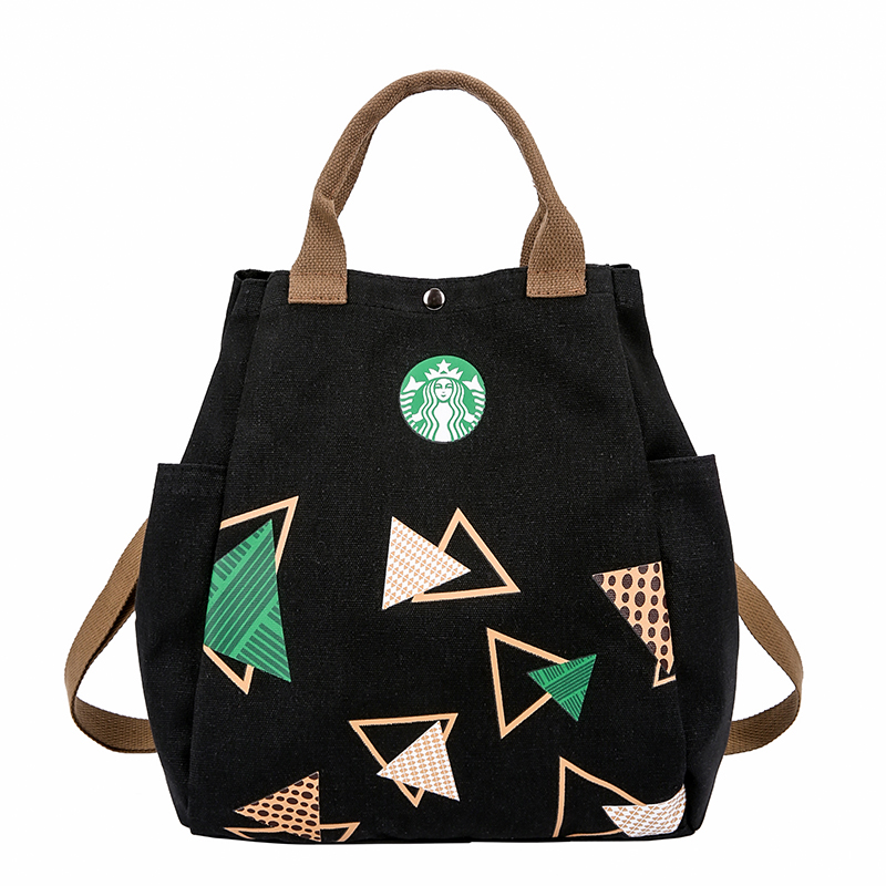 Chunky large-capacity shopping bag casual art one shoulder bag women tote Jumbo Bag tote bag simple canvas