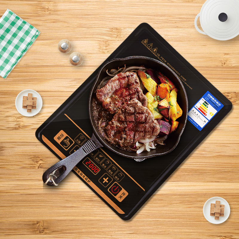 High-Power Induction cooker Home intelligent fried small hot pot Students mini thin commercial battery stove special offer genuine