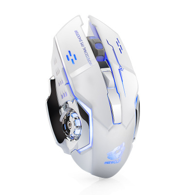 Free Wolf X8 wireless charging game Mouse mute illuminated mechanical mouse  A033 - Shop @ ezbuy Thailand