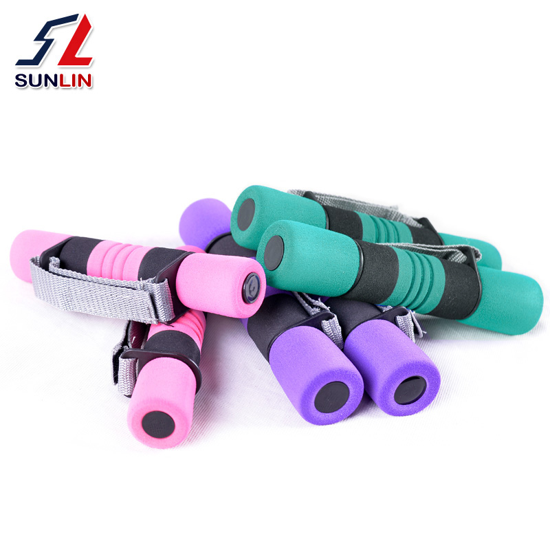 Little dumbbell Lady A pair of skinny arm skinny arm exercises arm muscle chest muscle 2kg4.5 Yoga supplies Home Fitness Equipment