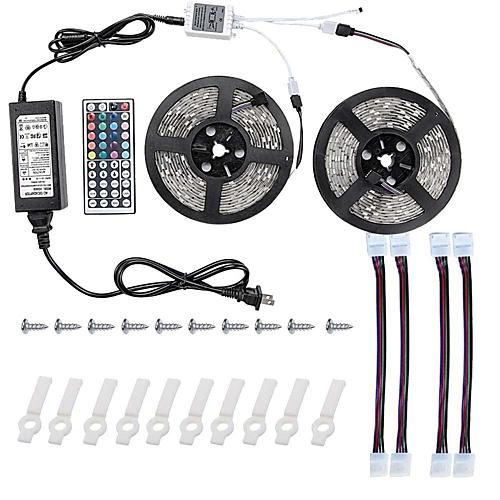 Buy 10m Light Sets 600 LEDs 5050 SMD RGB Remote Control ...