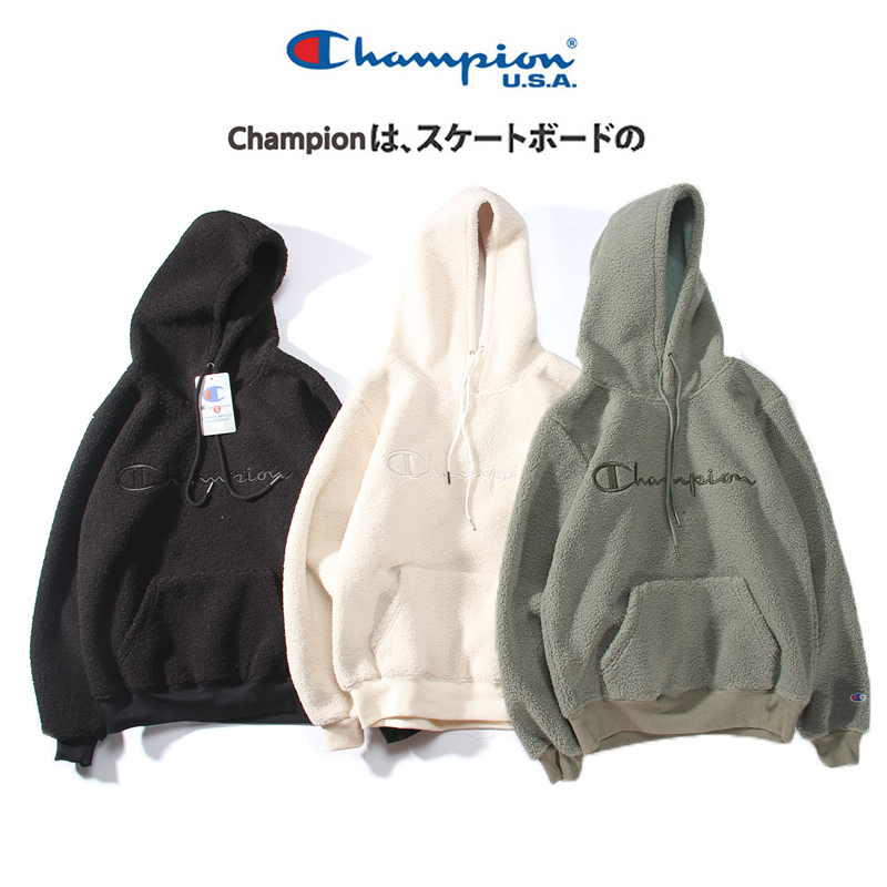 Autumn and winter Hong Kong wind with a hat-guard men's simple tide brand hoodie men's students loose big size sleeve hooded coat men's clothing