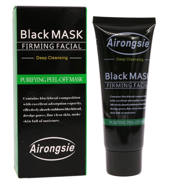 Blackhead Remove Facial Masks Deep Cleansing Purifying Peel Off Black Nud Facail Face black Mask -