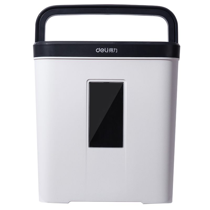 deli9939 Shredder Office Automatic Mini Household Particle Electric Small High Power Paper File Shredder Commercial Portable Waste Paper Crusher Level 5 Secret Silent Disc Card