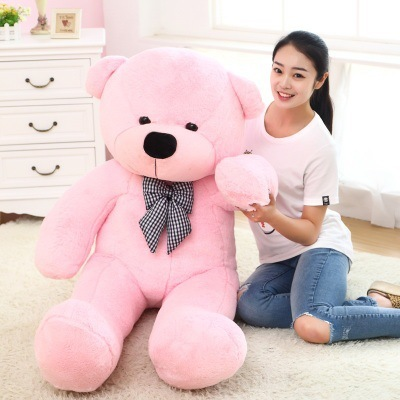Plush doll exploded white pink brown large Teddy Bear Plush Toy girlfriend Doll Girl Child animal