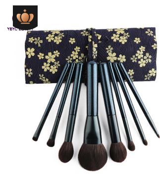 """beautybox"" flower 8 Qingdai makeup brush set soft hair loose powder blush brush professional beauty brush"