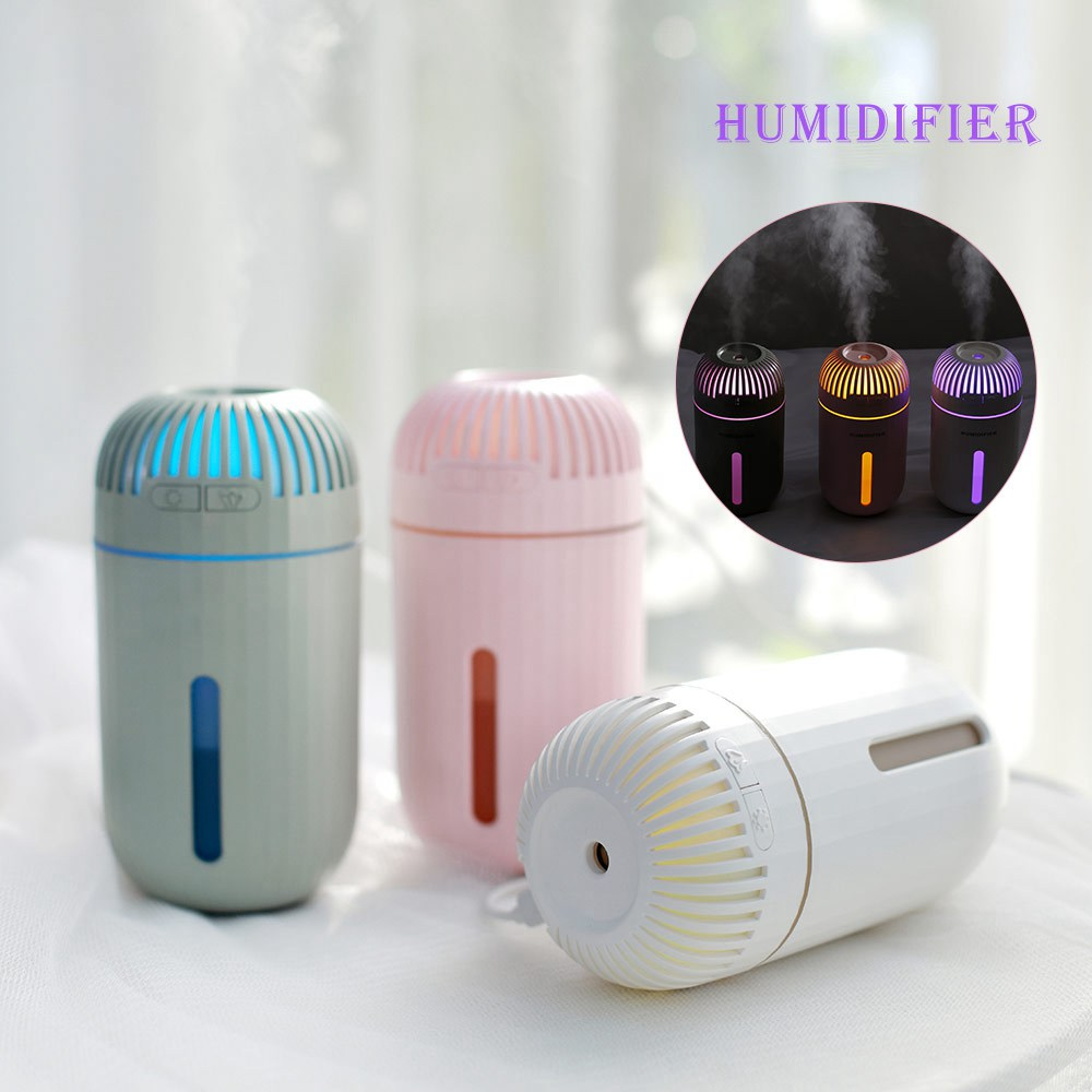 Bedroom Mini Humidifier Car Humidifier Car Air Purifier Car Negative Ion Aromatherapy Machine USB Mini Humidifier