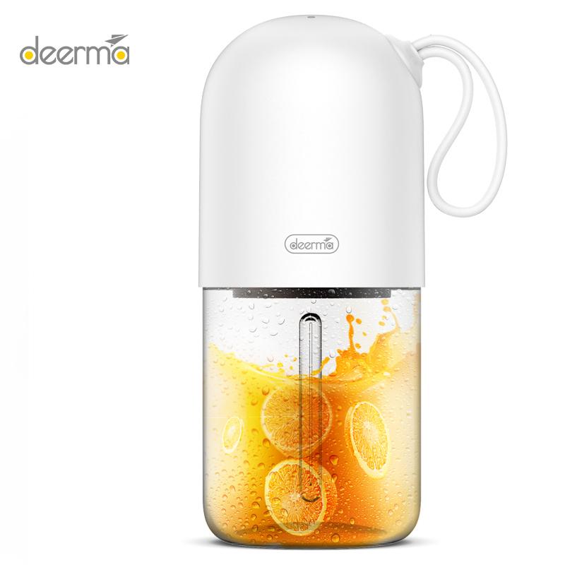 Deerma NU01 Portable Juicer Mini Capsule Shape Electric Juice Cup for Travel Gym