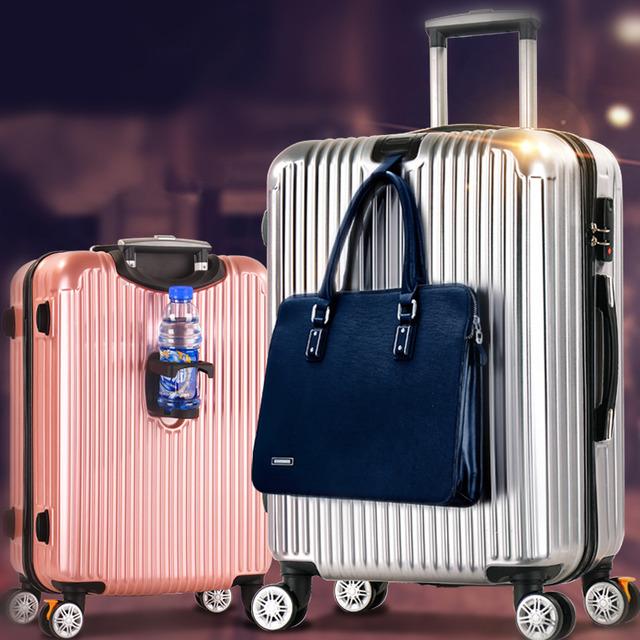 2019 new ABS + PC Cardan wheel Trolley Case Travel Case password case case men and women boarding case bb02