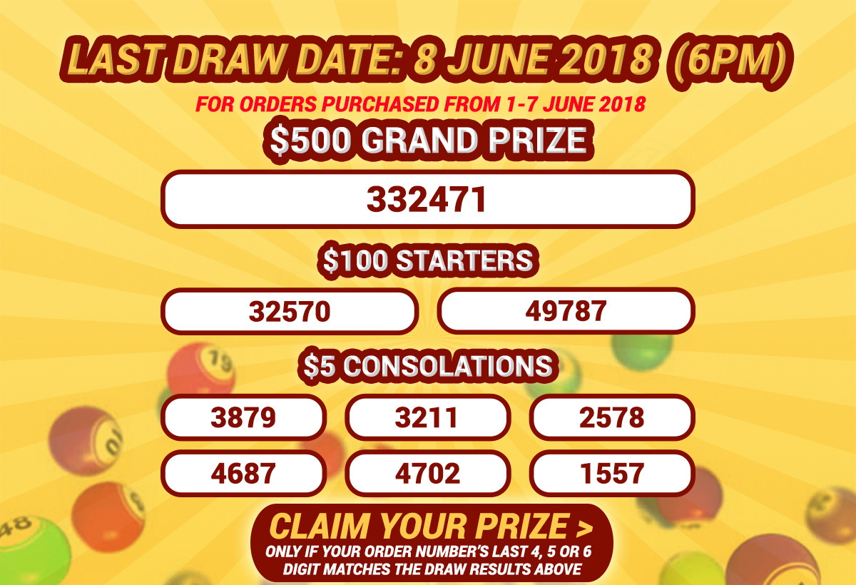 ezLotto - Online Lottery, Weekly Lucky Draw | Shop Online at