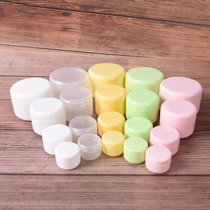 refillable bottles empty makeup jar pot travel face cream cosmetic container