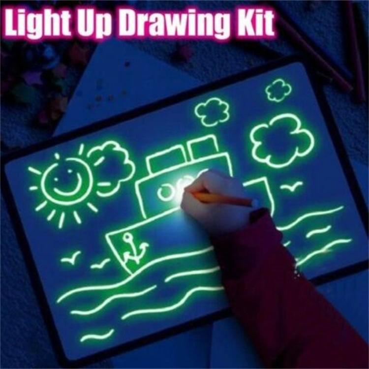 Mi Xiaoyu 1017 DrawWithLightFun Painting Tablet Night Light Plate Children Glow