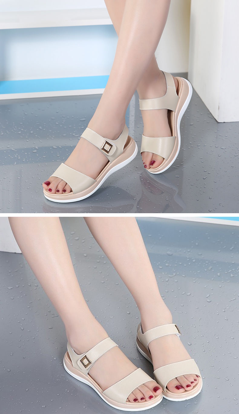 CuteFlats Roman Lace-up Sandals with Large for Fashion Women