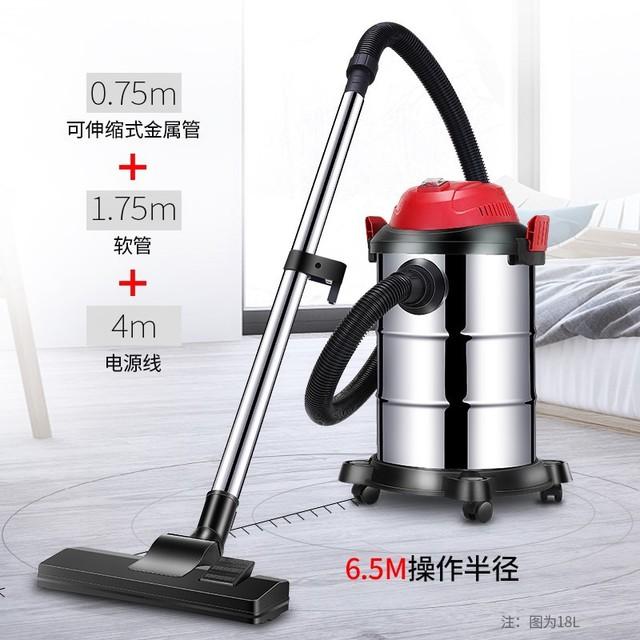 Home vacuum cleaner high-power powerful vacuum cleaner hand-held multi-function wet and dry bucket vacuum cleaner