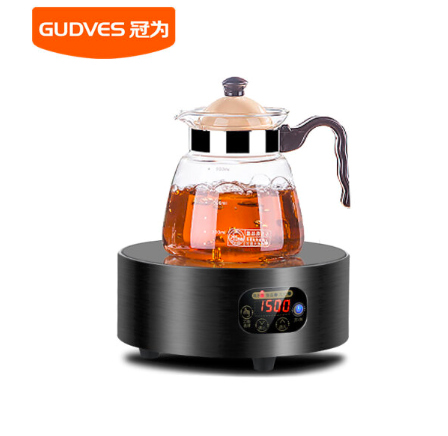 (GUDVES) GW-T5 electric pottery furnace family smart silent round tea stove small hotpot mini electric pottery furnace induction furnace tea furnace