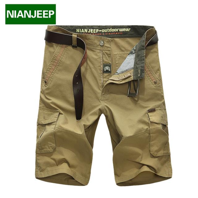 Jeep Shield men's shorts summer work shorts cotton seven-point pants casual 5-point pants 9889 model No.
