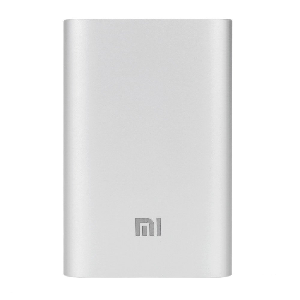 Local Brand Xiaomi Bestseller New Slim Powerbank 10000mah Original Silver 1 Month Seller Warranty My