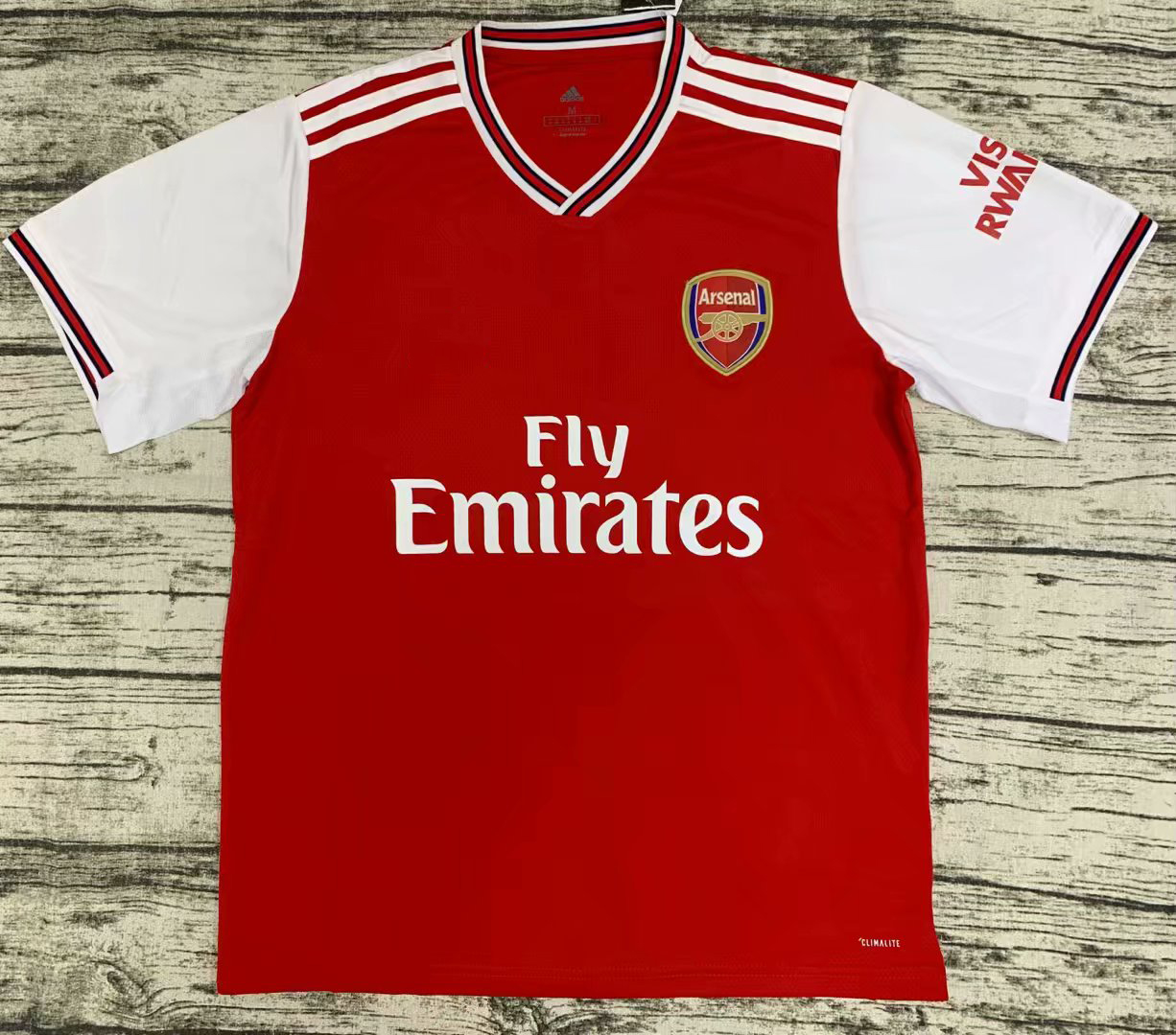 2019/2020 season Arsenal home soccer jerseys new Thai version shirt jersey men's soccer clothing custom name and number