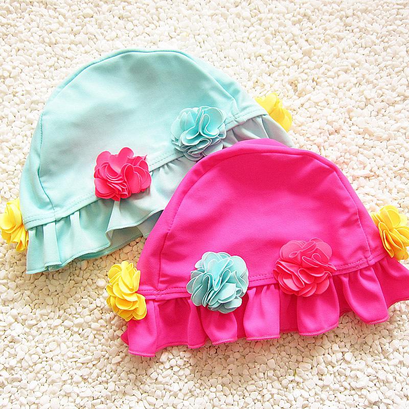 88092cca7 Buy Child cloth cute cartoon girl comfort ear not head baby swimming cap  4231 on ezbuy MY