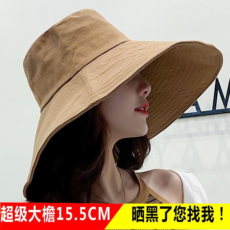 Sunshade hat Outdoor dew top duck tongue hat beach sun hat female summer Sydney same empty top straw hat sunscreen
