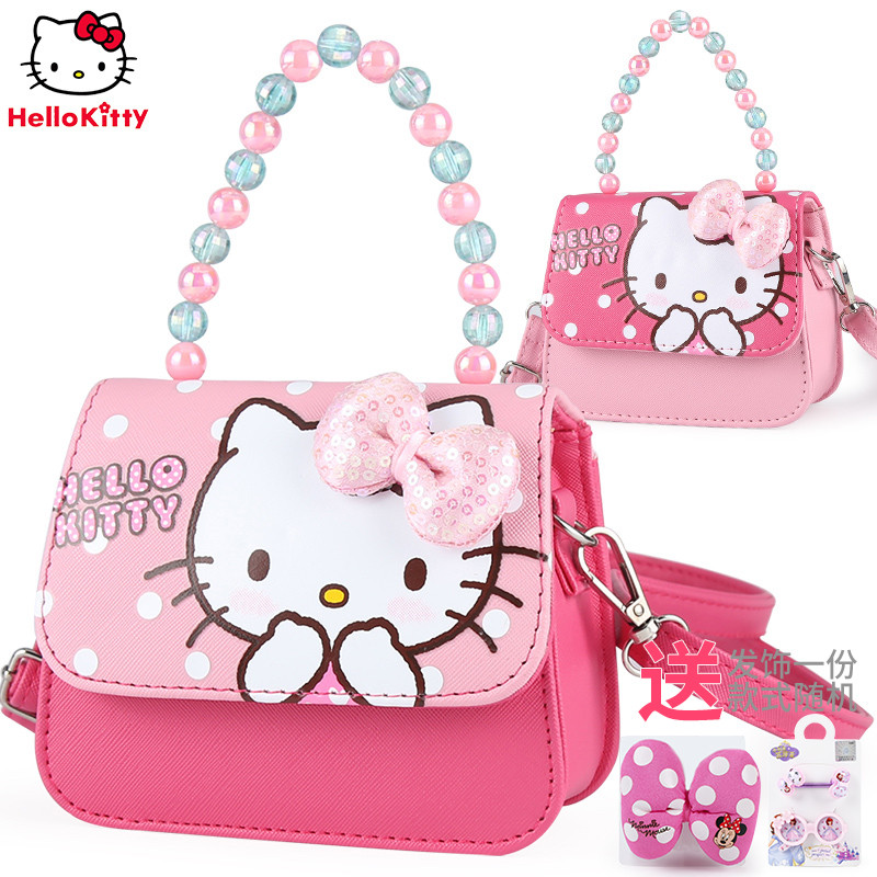 Hello Kitty kids bag little girl princess fashion bag girl crossbody bag baby handbag cute