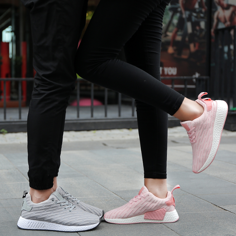 the best attitude 5e28a e9280 ... 2017 new fall couple casual shoes breathable shoes running all-match  women sports adidas shoes ...