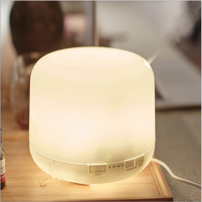 【EASY】Air ultrasonic humidifier 300ml household silent purifier aromatherapy machine