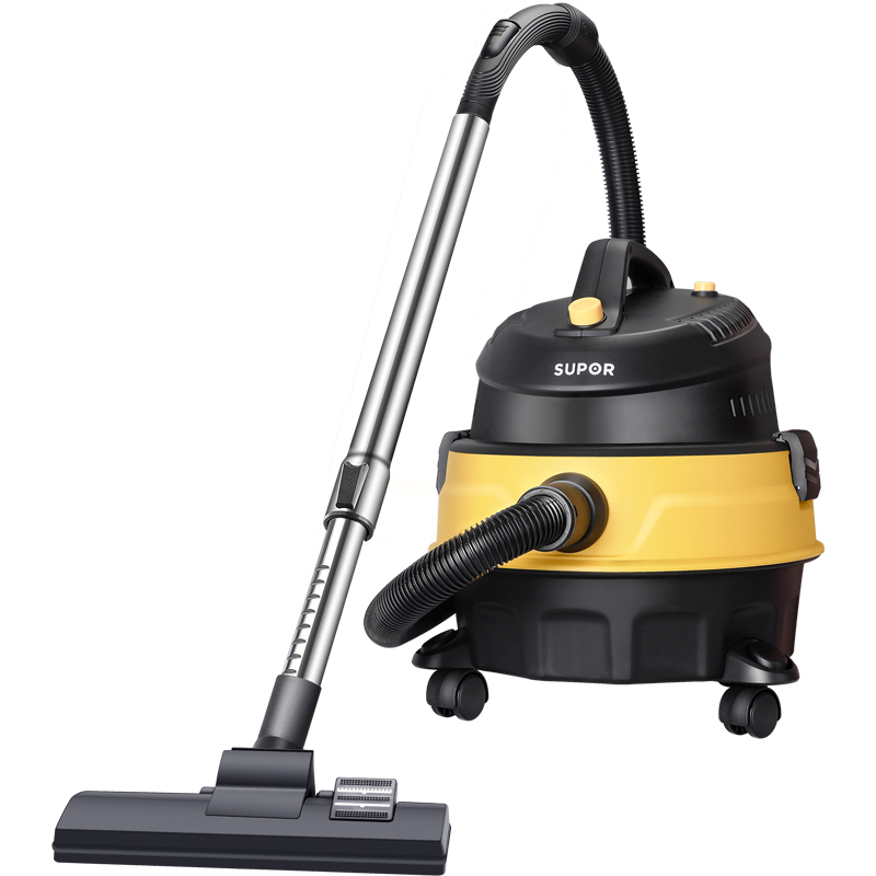 Supor household strong vacuum cleaner large suction power high-power wet and wet blow three-use industrial barrel vacuum cleaner commercial